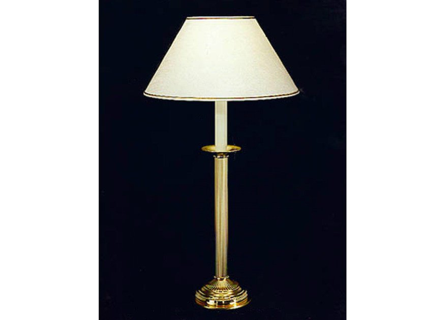 Bronze table lamp 776 | Table lamp by Tisserant