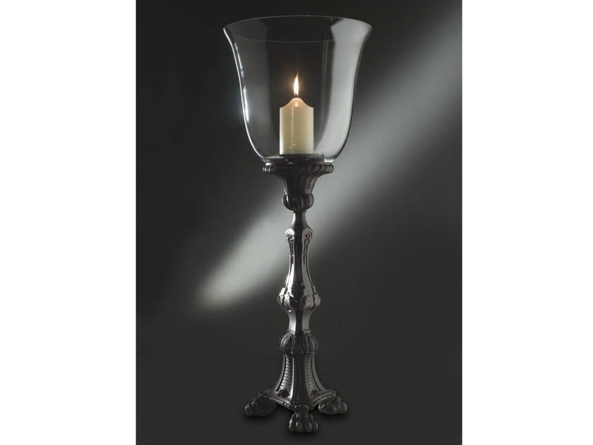 Bronze candlestick 830 | Candlestick by Tisserant