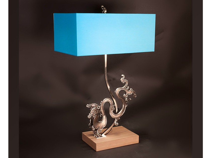 Bronze table lamp 905 | Table lamp by Tisserant