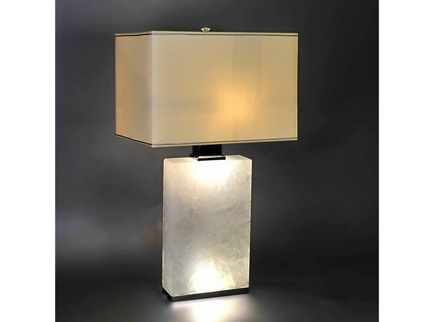 Metal table lamp 895 | Table lamp by Tisserant