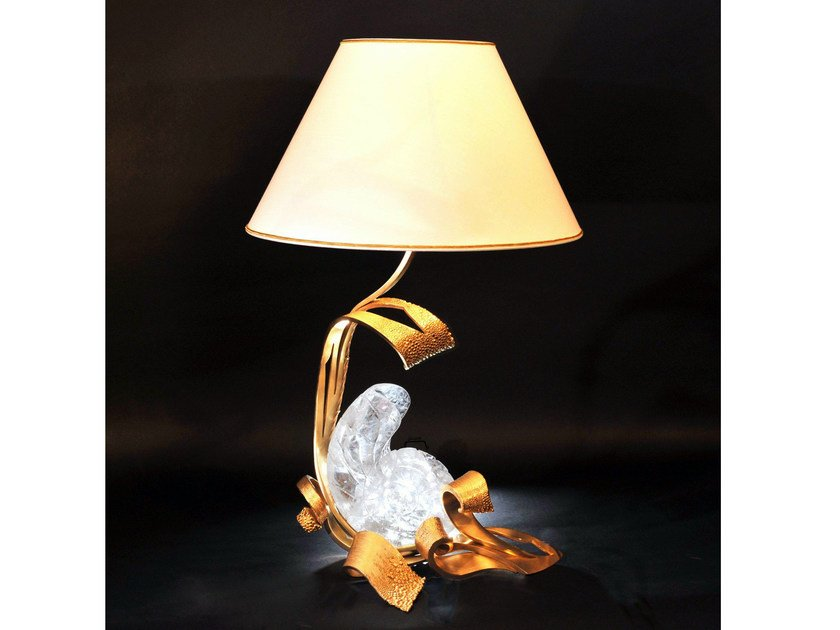 Bronze table lamp 900   Table lamp by Tisserant