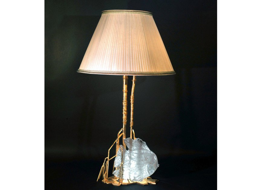 Crystal table lamp 910 | Table lamp by Tisserant