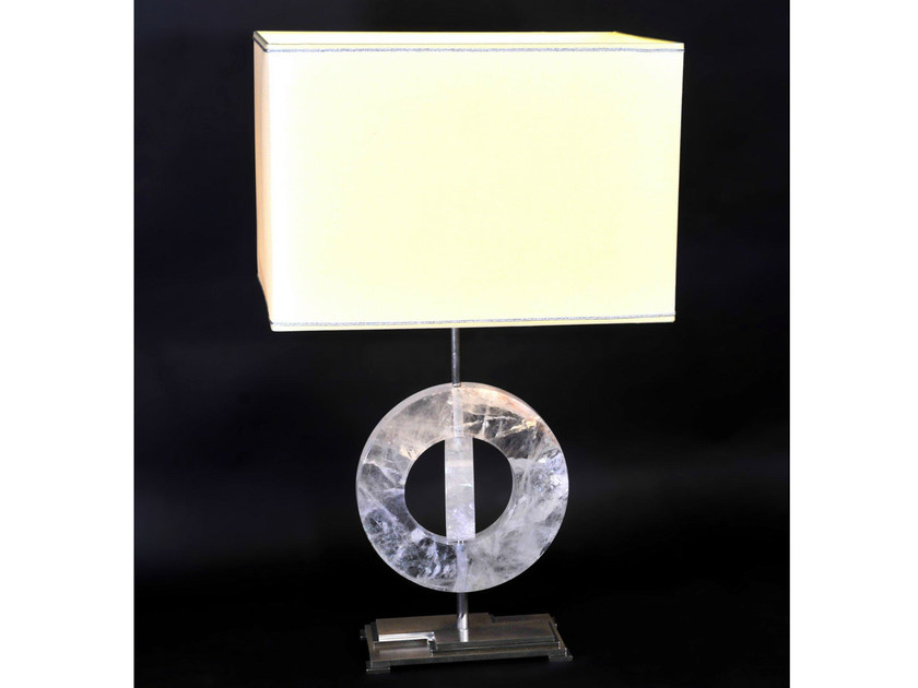 Crystal table lamp 920 | Table lamp by Tisserant