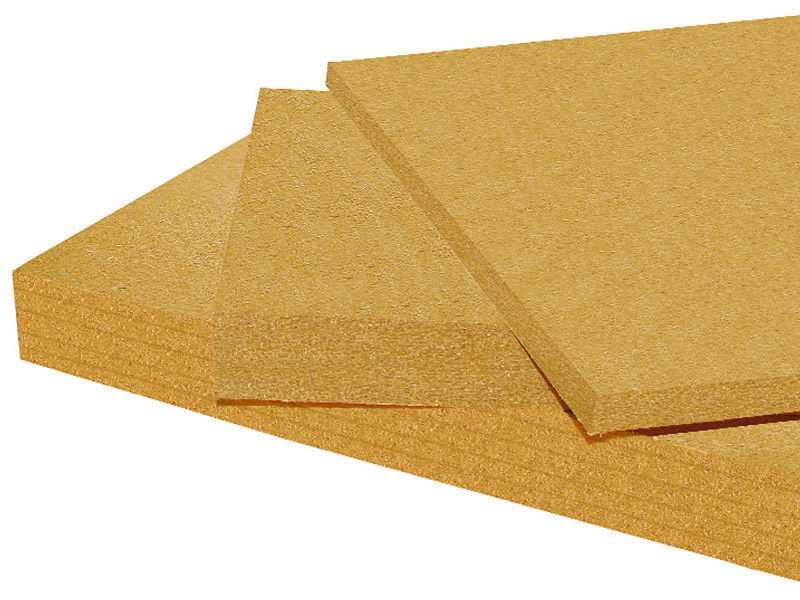 Wood fiber Natural insulating felt and panel for sustainable building PAVAWALL by Pavatex