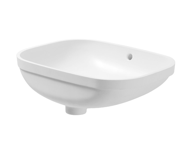 Undermount ceramic washbasin D-CODE | Undermount washbasin by Duravit