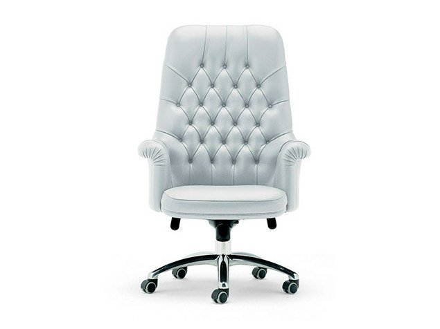 Executive chair with 5-spoke base OXFORD | Executive chair by Poltrona Frau