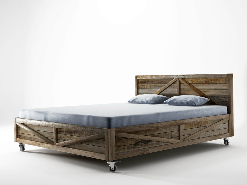 Double bed KRATE | Queen size bed by KARPENTER