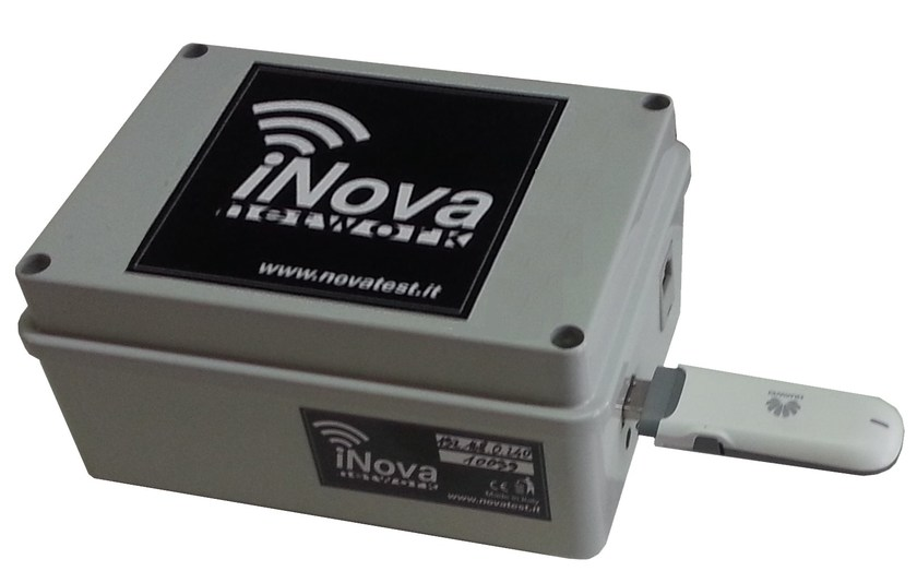 Measurement, control, thermographic and infrared instruments INOVA GATEWAY CLOUD GPRS by NOVATEST