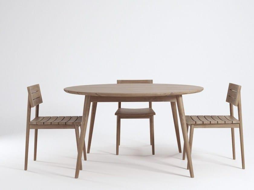 Teak garden chair VINTAGE OUTDOOR | Garden chair by KARPENTER