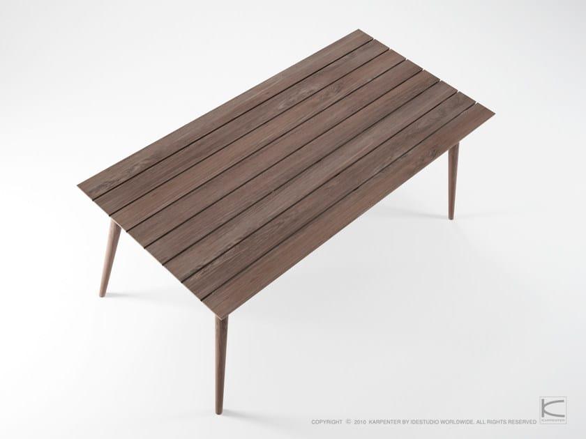 Da Rettangolare In Karpenter OutdoorTavolo Teak Vintage Giardino b6gfYy7v
