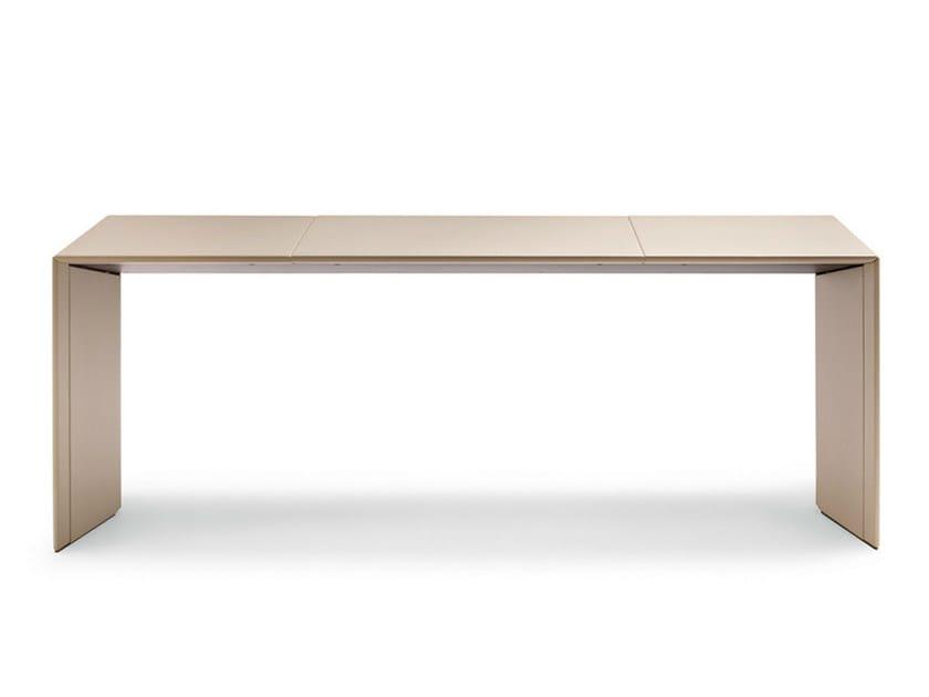 Executive desk C.E.O. CUBE DESK   Office desk by Poltrona Frau