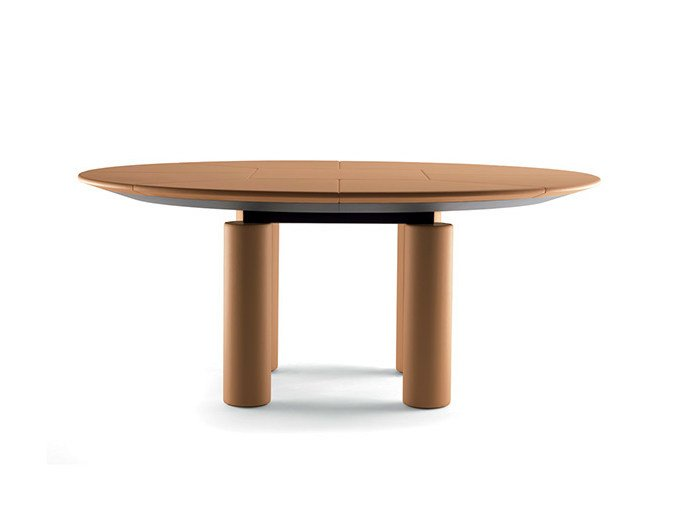 Oval meeting table C.E.O. CUBE MEETING | Oval meeting table by Poltrona Frau