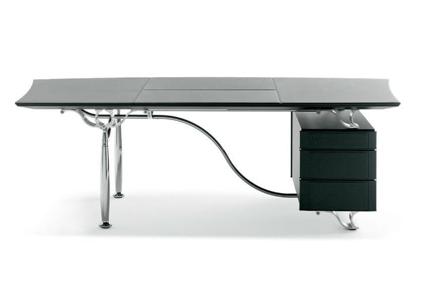 Executive desk CORINTHIA DESK by Poltrona Frau