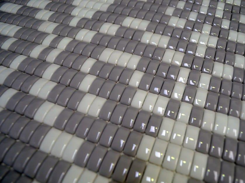 Mosaico in vetro LOUISE GREY by Mosaico+