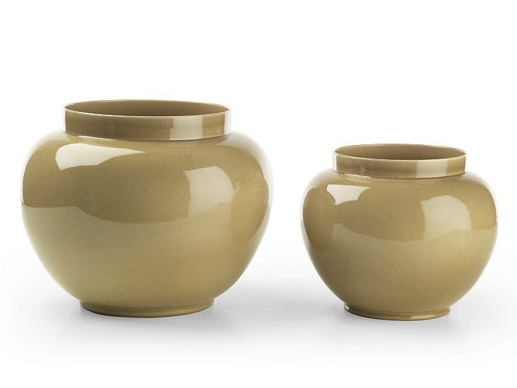 Plantador de cerâmica POINT | Plantador by MARIONI