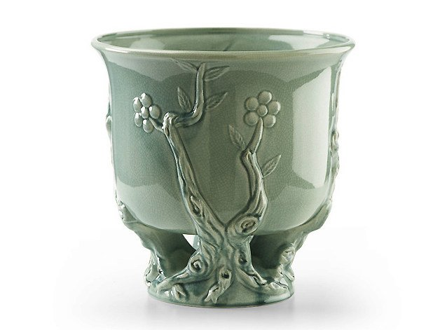 Ceramic plant pot PEKING | Plant pot by MARIONI