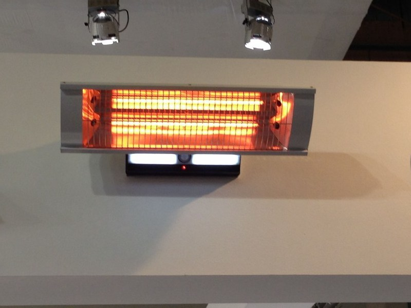 Heat diffuser for exterior BOREAS by Infralia