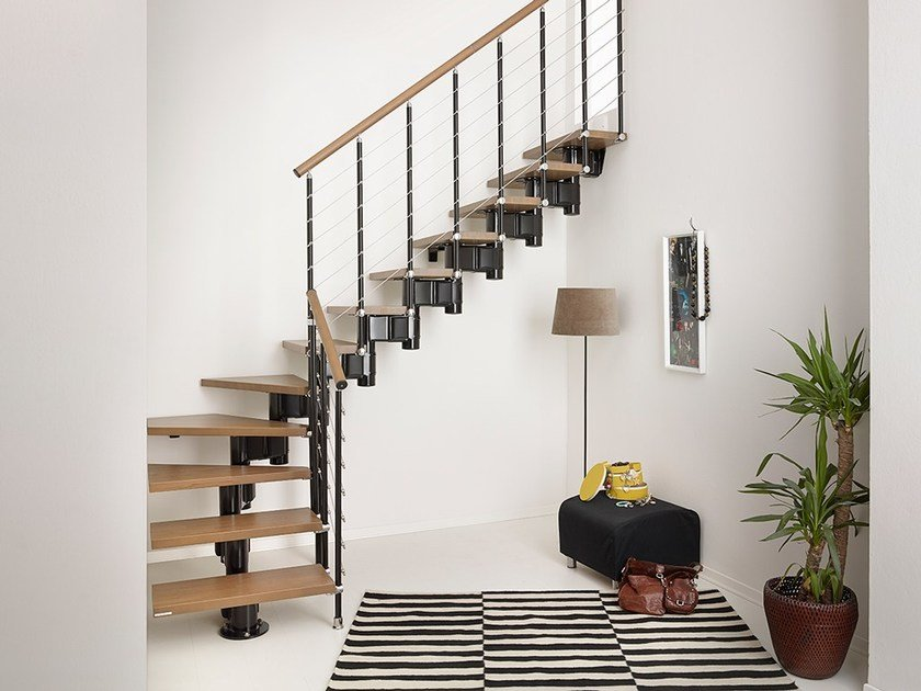 Open staircase pixima long line by fontanot for Scale in kit leroy merlin