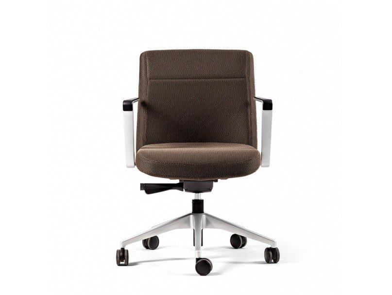 Height-adjustable task chair with 5-Spoke base with casters CRON   Task chair with casters by ACTIU