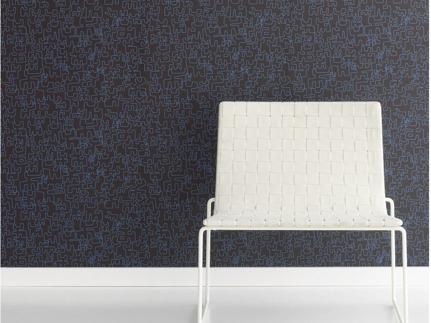 Motif nonwoven wallpaper TORITOS by Equipo DRT