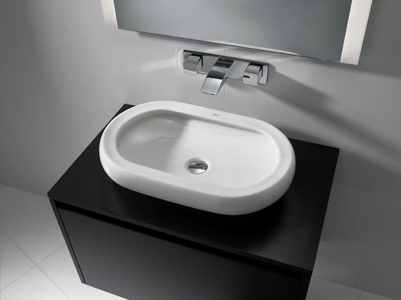 Countertop washbasin ART 60 by ROCA SANITARIO