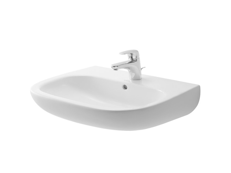 Ceramic washbasin D-CODE | Washbasin by Duravit
