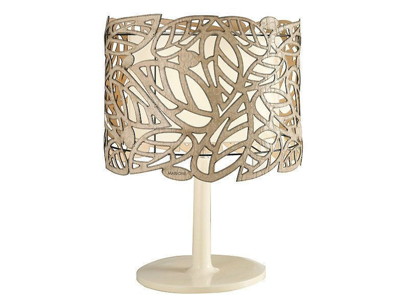 Ceramic table lamp LEAF | Table lamp by MARIONI
