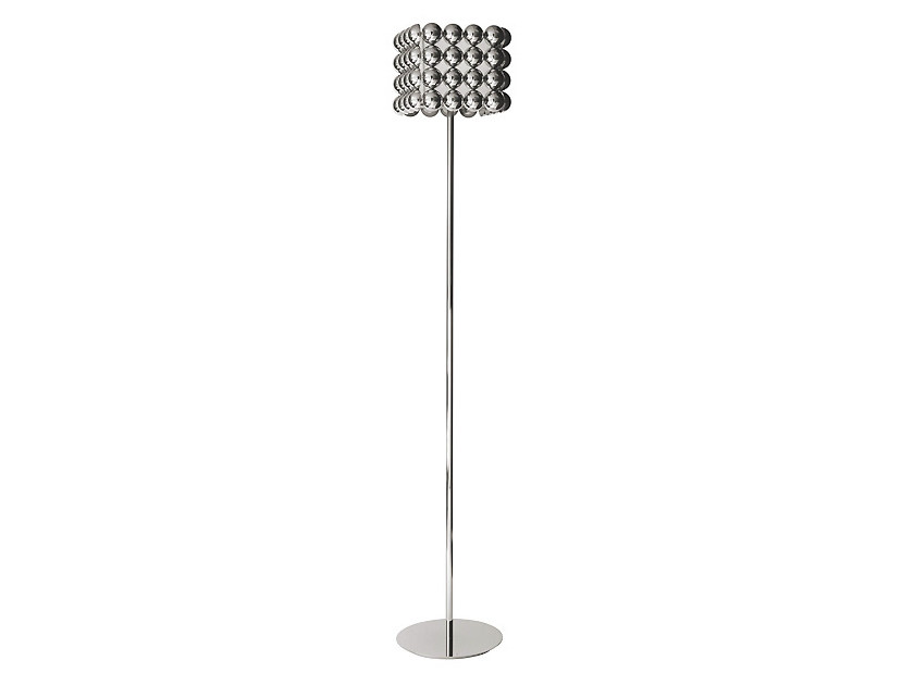 Lampada da terra in metallo BUBBLE | Lampada da terra by MARIONI