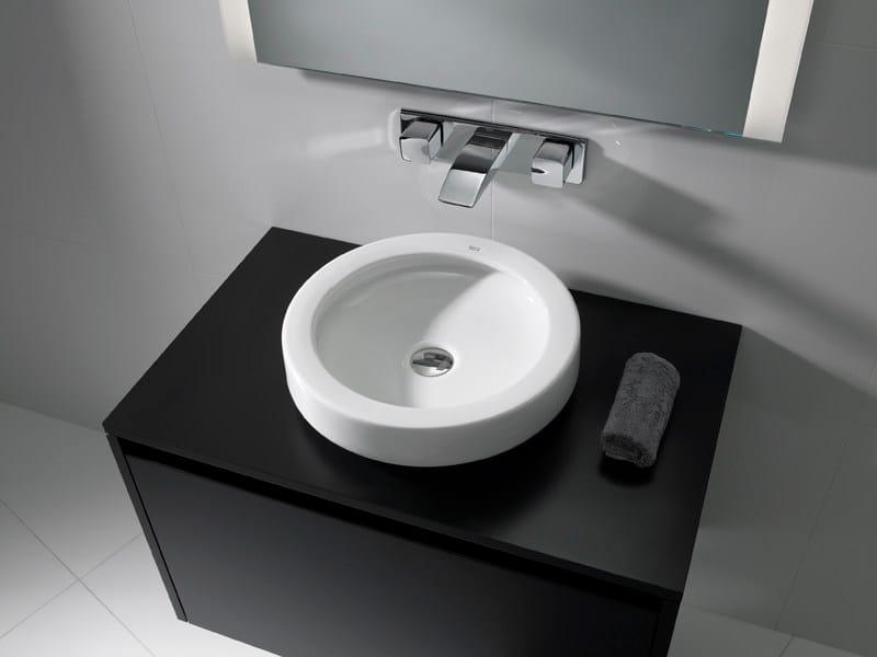 Countertop washbasin ORBITA 42 by ROCA SANITARIO