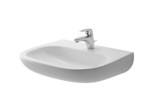 Ceramic washbasin D-CODE | Washbasin by Duravit