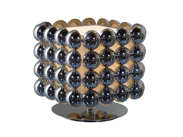 Metal table lamp BUBBLE (4X4) | Table lamp by MARIONI