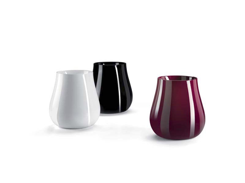Polyethylene vase DROP by Plust