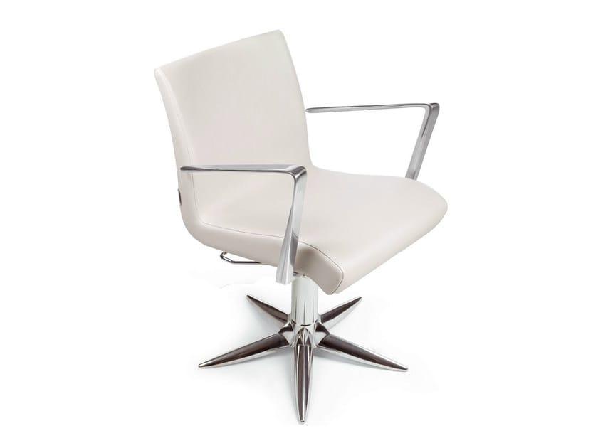Hairdresser chair ALUOTIS PARROT by Gamma & Bross