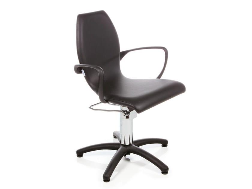 Hairdresser chair BLACK NIKE by Gamma & Bross