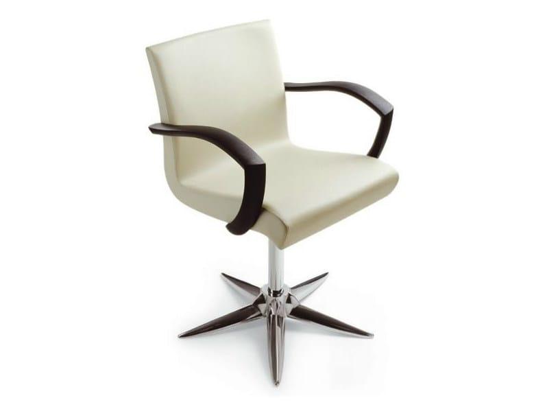 Hairdresser chair OTIS PARROT by Gamma & Bross