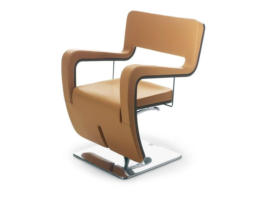 Hairdresser chair TSU PELLE by Gamma & Bross