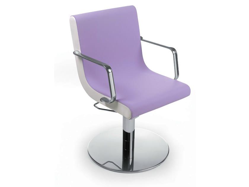 Hairdresser chair ZILUNA ROTO by Gamma & Bross