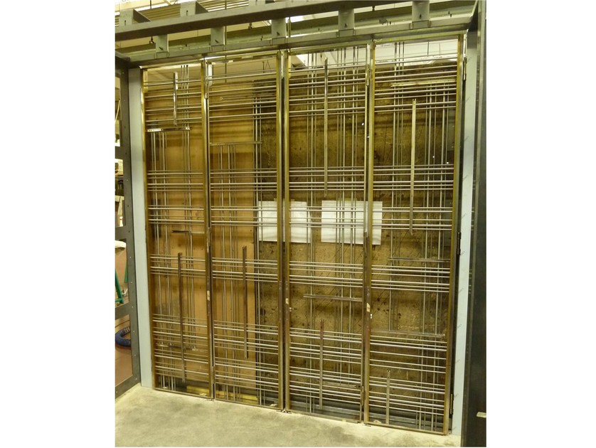 Stainless steel security bar ENTRANCE DOOR by YDF