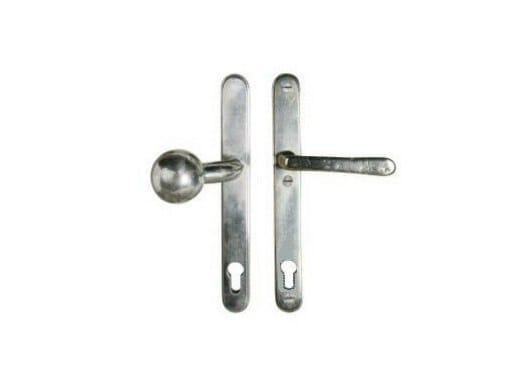 Metal window handle on back plate PSLD/PZ   Window handle by Dauby