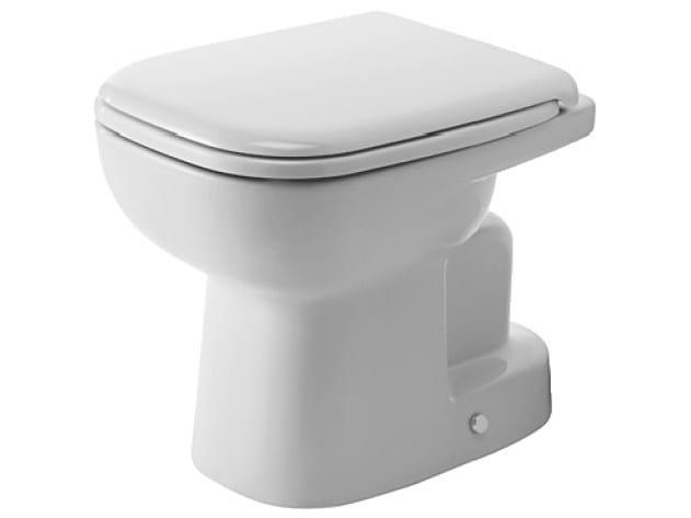 Ceramic toilet D-CODE | Toilet by Duravit