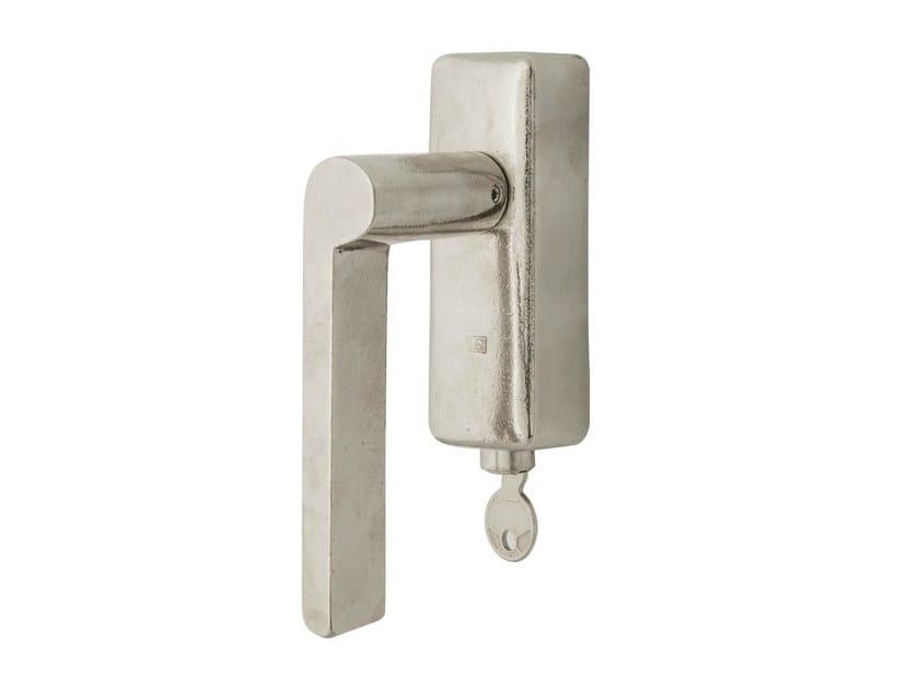 Metal window handle with lock PH 1928 DKS | Window handle with lock by Dauby