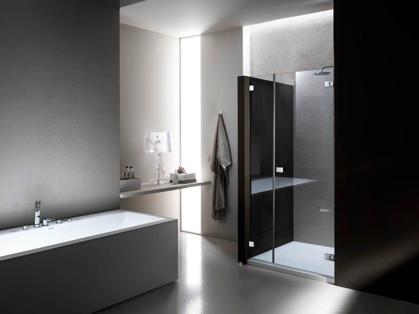 Niche tempered glass shower cabin X-LINE by Provex Industrie