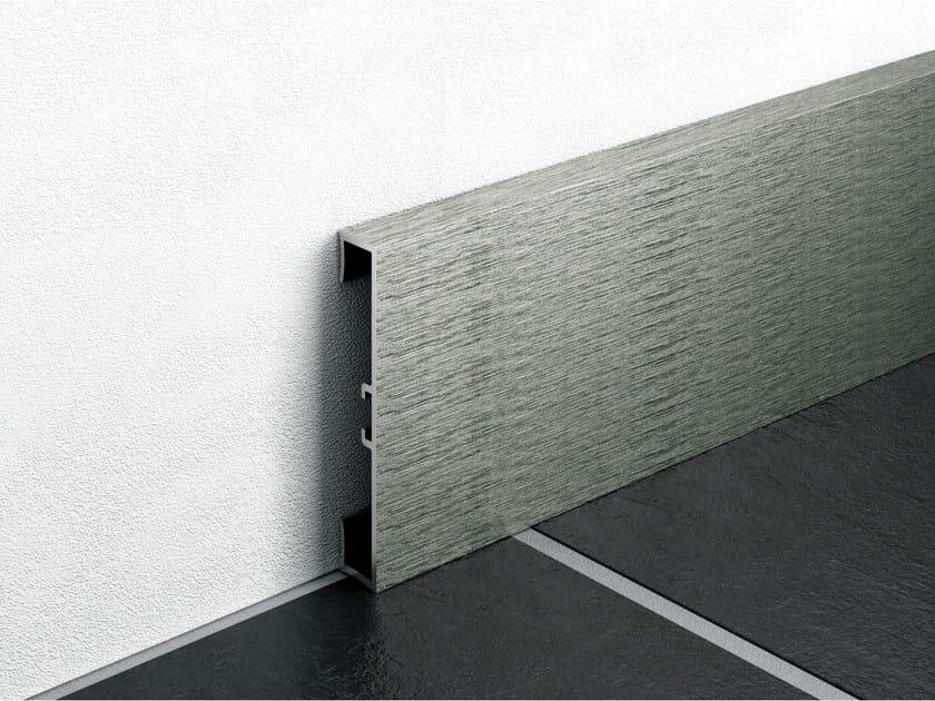 Battiscopa in alluminio METAL LINE 89/ I-DESIGN by PROFILPAS