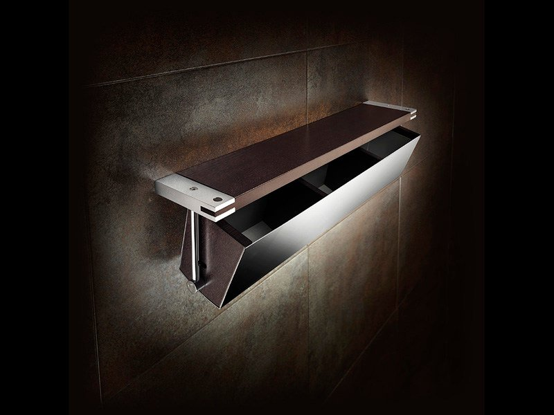 Bathroom wall shelf SINGLE | Bathroom wall shelf by ROCA SANITARIO