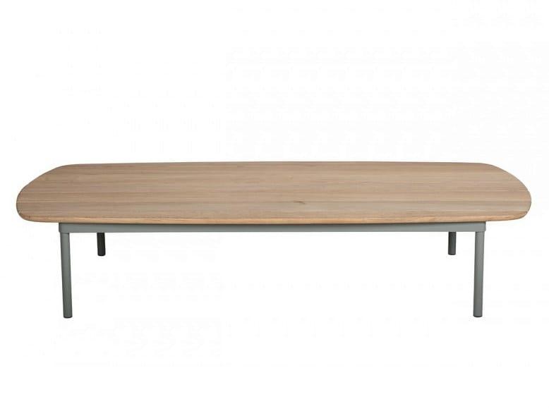 Low teak garden side table CHELSEA | Low coffee table by Tectona