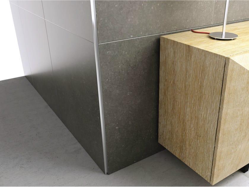 Aluminium edge profile for walls PROANGLE AX/2 M-DESIGN by PROFILPAS