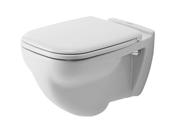 Wall-hung ceramic toilet D-CODE | Toilet by Duravit