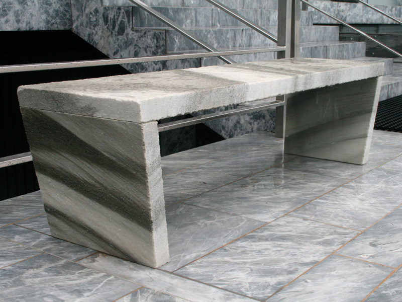 Backless marble bench seating SIMPLE BENCHES by FranchiUmbertoMarmi