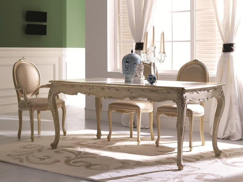 Rectangular wooden dining table 3529 | Dining table by Grifoni Silvano