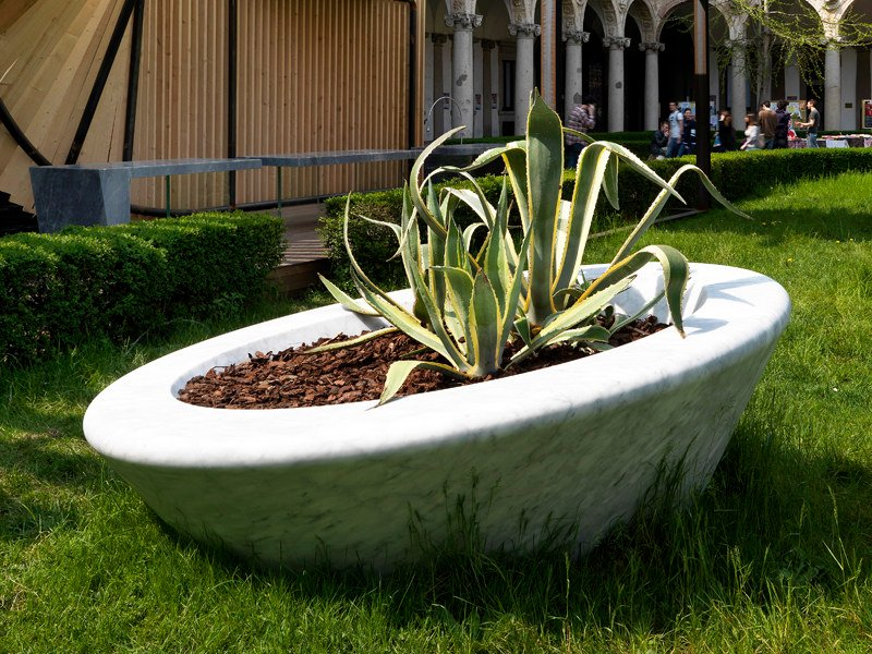 Marble Flower pot 4U by FranchiUmbertoMarmi
